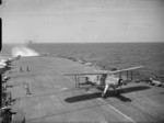 Albacore aircraft of No. 820 Squadron FAA aboard HMS Formidable, 1940-1945