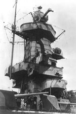Close-up view of the starboard side of Admiral Graf Spee