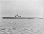 USS Grayback during her shakedown cruise, Long Island Sound, United States, 6 May 1941