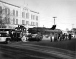 Ha-19 being transferred to Fredericksburg, Texas during a bond tour, circa 1943