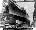 Launching ceremony of Helena, New York Navy Yard, Brooklyn, New York, United States, 27 Aug 1938, photo 1 of 2