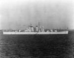 USS Helena at anchor, President Roads, Boston, Massachusetts, United States, 15 Jun 1940, photo 2 of 2; photo taken by photographer from USS Wasp