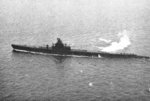 USS Hoe underway off the east coast of the United States, 16 Feb 1943