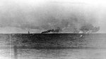 Smoke from Prince of Wales and Hood, seen from Prinz Eugen, 24 May 1941, photo 2 of 2