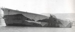 Incomplete Unryu-class carrier Ikoma, Shodoshima, Japan, 23 May 1946
