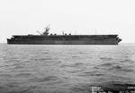 Independence off Mare Island Navy Yard, 13 Jul 1943, photo 1 of 3