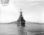 Indianapolis off Mare Island Navy Yard, CA, 10 Jul 1945, photo 2 of 4