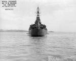 Indianapolis off Mare Island Navy Yard, CA, 10 Jul 1945, photo 3 of 4