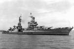 Indianapolis off Mare Island Navy Yard, California, 10 Jul 1945