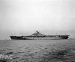 Intrepid off Newport News, Virginia, United States, 16 Aug 1943