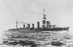 Sendai-class light cruiser retouched photo, circa 1924-25