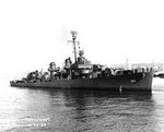 Johnston off Seattle or Tacoma, Washington, United States, 27 Oct 1943