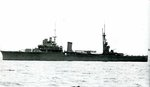 Light cruiser Kashii at Yokohama, Japan, July 15, 1941