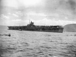 Katsuragi in Simpson Harbor, Rabaul, New Britain, 31 Jan 1946