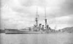 Japanese battlecruiser Kirishima at Sasebo, Japan, 21 Dec 1915