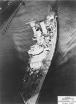 German light cruiser Köln underway in confined waters, circa 1930, photo 2 of 2