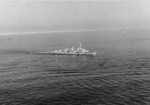 German light cruiser Köln as photographed by a RAF aircraft from Thorney Island in Southern England, United Kingdom, 2 Mar 1939