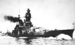 Kongo underway, with her configuration after the 1929-31 reconstruction