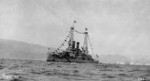 Battleship Lemnos at Smyrna, Turkey, 15 Sep 1919