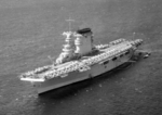 USS Lexington at anchor off Honolulu, Hawaii, 8 Apr 1938