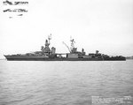 Louisville off the Mare Island Navy Yard, California, United States, 7 Apr 1945
