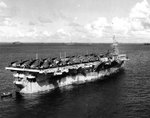 Monterey at Ulithi Atoll, Caroline Islands, 24 Nov 1944