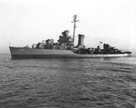 Mugford off the Mare Island Navy Yard, California, United States, 28 Feb 1945, photo 1 of 2
