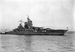 New Mexico off the Puget Sound Navy Yard, Bremerton, Washington, United States following overhaul, 6 Oct 1943