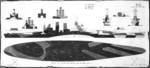 Plan for camouflage Measure 32v11 Design 18D for USS North Carolina, circa 1943, 1 of 2