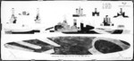 Plan for camouflage Measure 32v11 Design 18D for USS North Carolina, circa 1943, 2 of 2