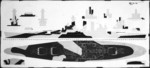 Plan for camouflage Measure 32v6 Design 10D for USS North Carolina, circa 1943, 2 of 2; this design would remain unused