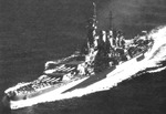 USS North Carolina underway in Puget Sound, Washington, United States, Sep 1944