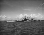 USS North Carolina at Ulithi, Caroline Islands, 21 Nov 1944