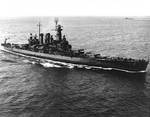 USS North Carolina off US Territory of Hawaii, 27 Mar 1943