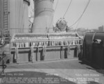 View of the port side signal bridge aboard USS North Carolina, Aug 1941