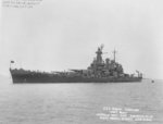 USS North Carolina off Norfolk Navy Yard, Portsmouth, Virginia, United States, 3 Jun 1942, photo 1 of 2