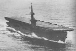 USS Petrof bay on her shakedown cruise, 18 Mar 1944