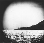Todo Saki Lighthouse, Honshu Island, Japan, Feb 1943; photo taken by submarine Pickerel