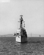 USS Preston off San Francisco Naval Shipyard, California, United States, 22 Oct 1966, photo 5 of 6