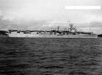 Princeton off Puget Sound Navy Yard, Washington, 1 Jan 1944, 2 of 3