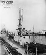 USS Puffer in Mare Island Naval Shipyard, California, United States, 20 Nov 1944, photo 1 of 2