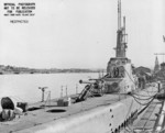 USS Puffer in Mare Island Naval Shipyard, California, United States, 20 Nov 1944, photo 2 of 2