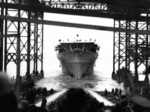 Launching of carrier Ranger, Newport News, Virginia, United States, 25 Feb 1933