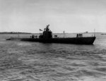 USS Runner off Portsmouth Naval Shipyard, Kittery, Maine, United States, 16 Oct 1942