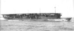 Carrier Ryujo underway off Iyo, Japan in the Inland Sea, 6 Sep 1934, photo 2 of 2