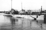 Submarines S-28 and S-31 dressed up as fictitious ships for the 1933 film