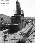 Sargo at Mare Island Navy Yard, 24 Aug 1944