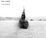 Sargo off Mare Island Navy Yard, 21 Apr 1943, photo 1 of 2