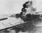 German battleship Schleswig-Holstein bombarding Westerplatte, Danzig, 1 Sep 1939. Photo 1 of 2.