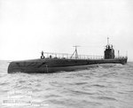 Seal during her trials, off Provincetown, Massachusetts, United States, 5 Mar 1938, photo 1 of 2